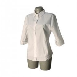 Camicia Donna Bianca XL -946F-