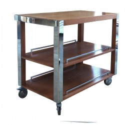 Montecarlo Light Walnut Cart 104x57x83 Altea 7