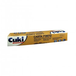 Baking paper in roll 40cm x 50mt Cuki Professional
