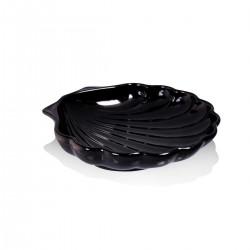 Piatto Conchiglia Nero 20 cm