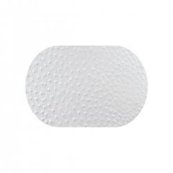 Tovaglia 30x20 Pelle Bianco Struzzo