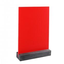 Lavagna Rossa 15x21 da tavolo