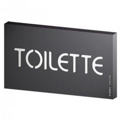 Lavagna Segnaletica 8x15 Toilette