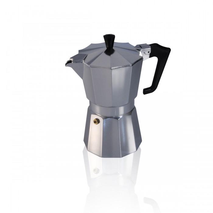 Caffettiera Moka alluminio 6 t.ze
