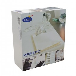 Duniletto Towel 40x48 Black - 50 Duni napkins