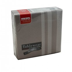 Napkins 40x40 Tweed Choccolate 50 pcs