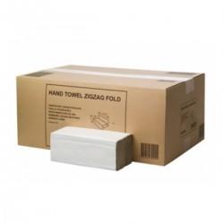 Asciugamano 1v Z bianco pura cellulosa