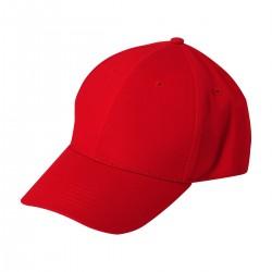 Cappello Sport rosso/bianco Pz2