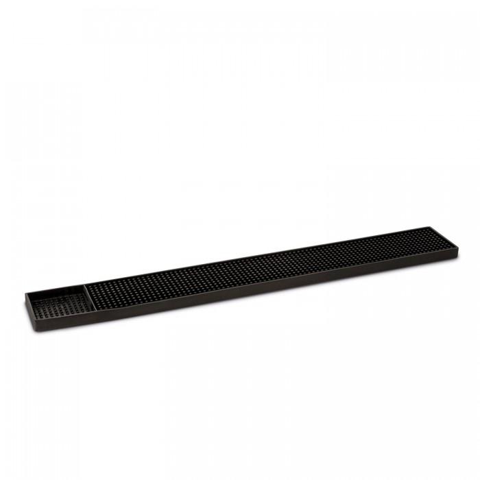 Bar mat cm. 8x58x1,8h. Nero