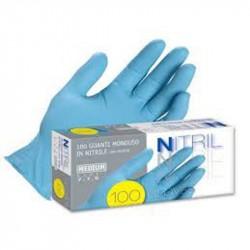 Guanto Nitril s/polvere 100 pzz - Taglia XL 9-9,5