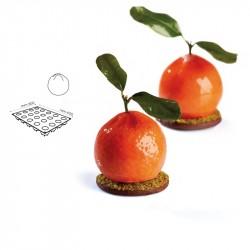 Stampo Silicone 40x30 Mandarino 90 ml